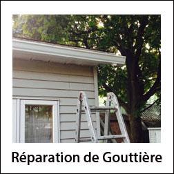 Réparation gouttière